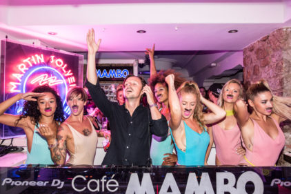 Martin Solveig In The Mambo Booth