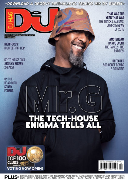DJ Mag Cover - Mr G
