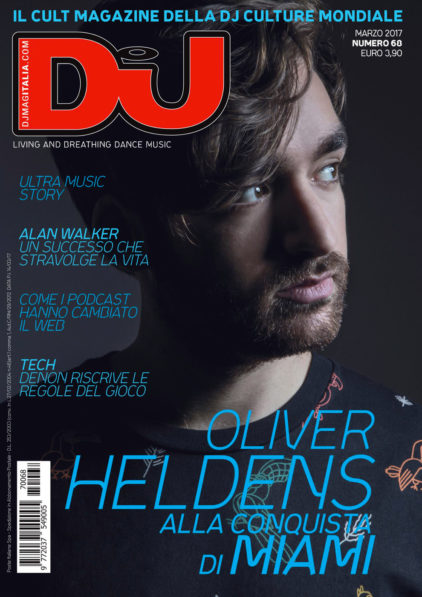 DJ Mag Italy - Oliver Heldens Cover Shoot