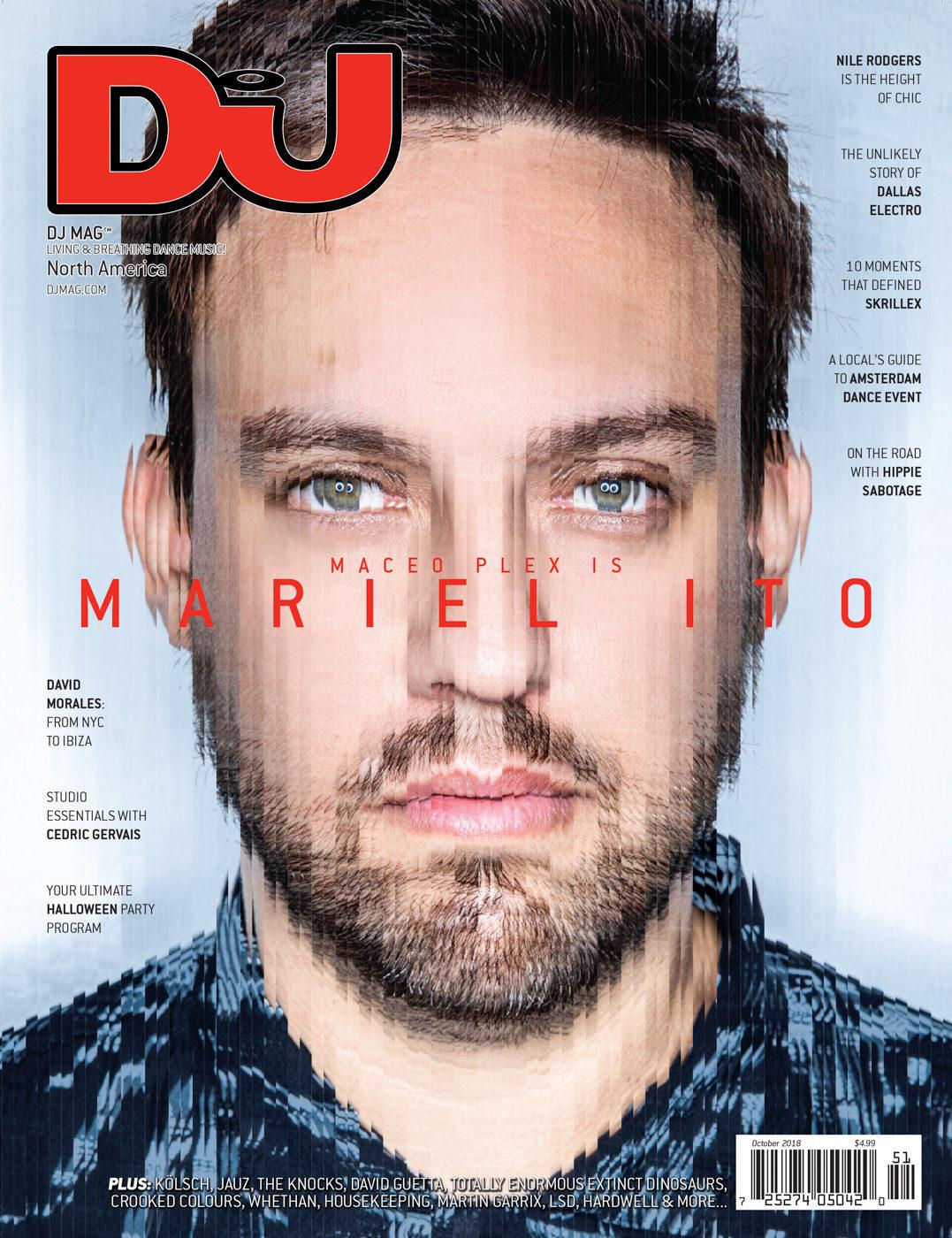 Mariel Ito - DJ Mag USA Cover Shoot