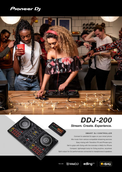 Pioneer DDJ -200 Campaign